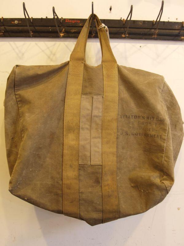 画像1: USAAF 1940's WWII  Aviators Kit Bag