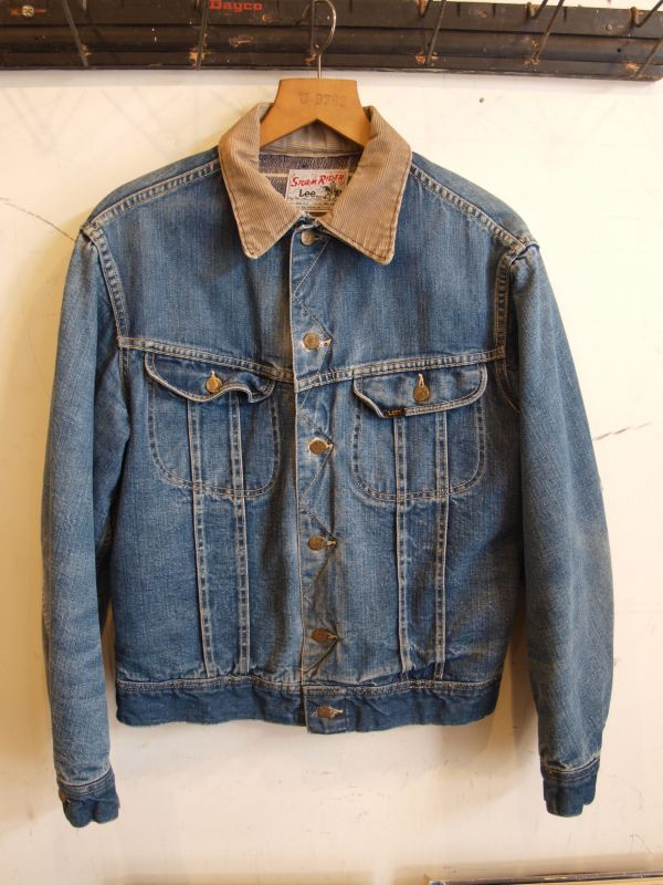 画像1: 60's Lee Storm Rider  Denim JACKET
