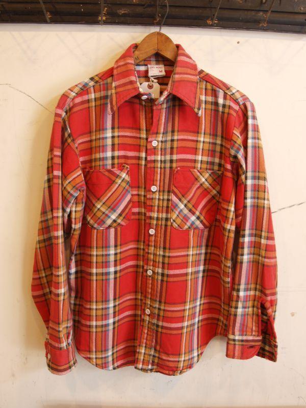 画像1: 70's BIG MAC ヘビーフランネルシャツ