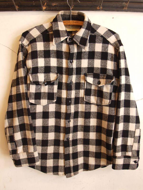 画像1: BENIDJI WOOLEN MILLS ウールシャツ