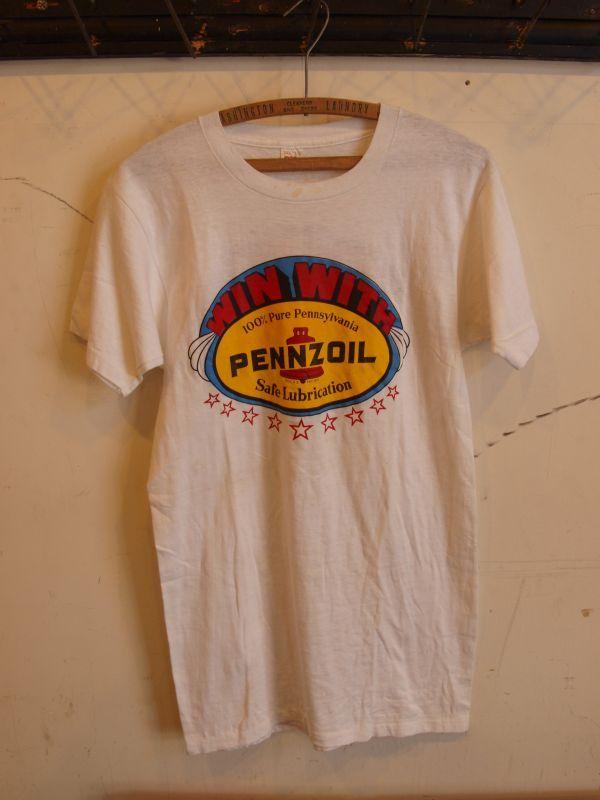 画像1: 70's PENZOIL MC  Teeシャツ
