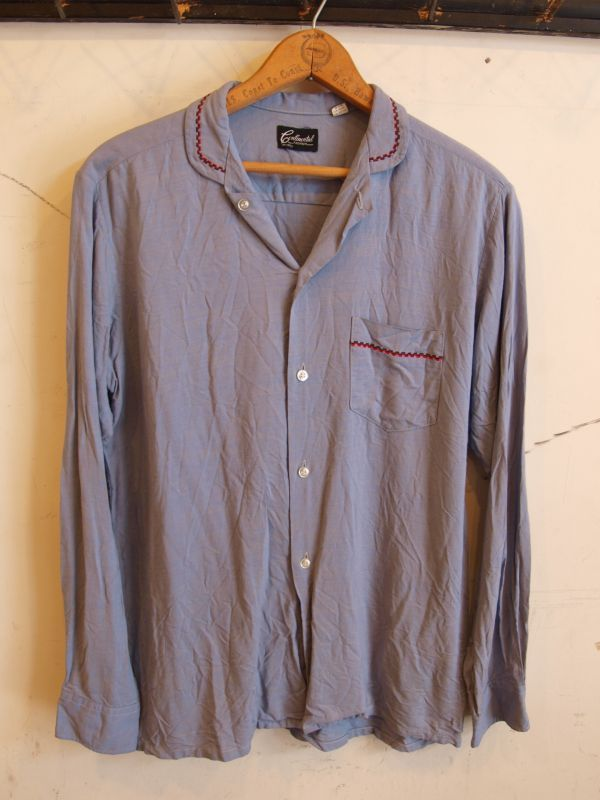 画像1: 60's Continental レーヨンシャツ