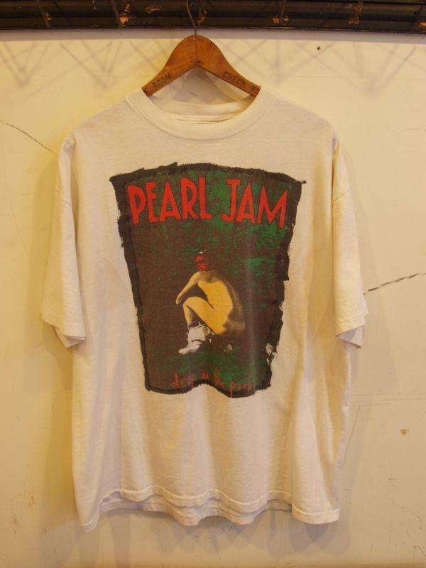 画像1: 90's PEAL JAM ロック  Teeシャツ