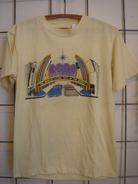 reno souvenir vintage teeシャツ 古着屋 clothing 滋賀県 彦根市