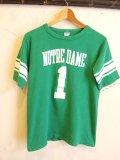 """70's Champion """"No1"""" WIN フットボール Tシャツ"""