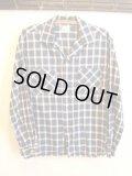 50's Follro コットン オープンシャツ
