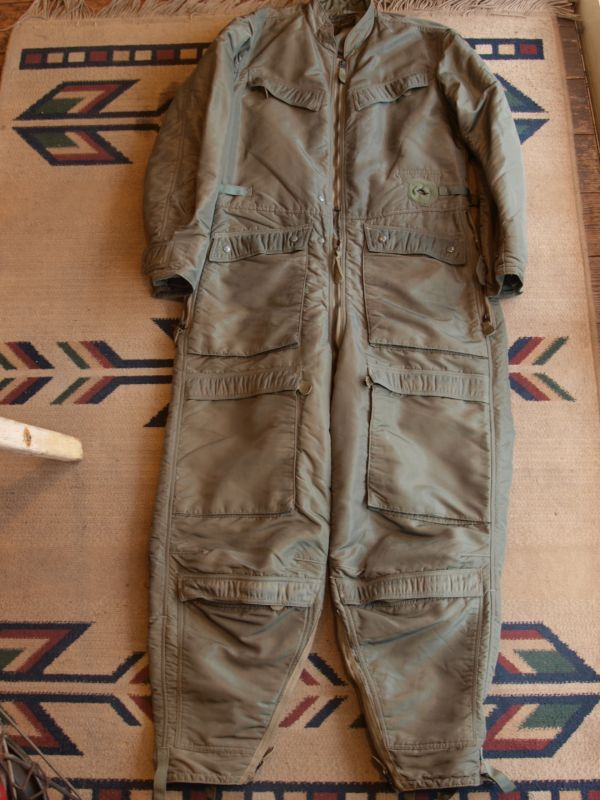 画像1: 50's USAF CWU-2/P FLYING COVERALLS