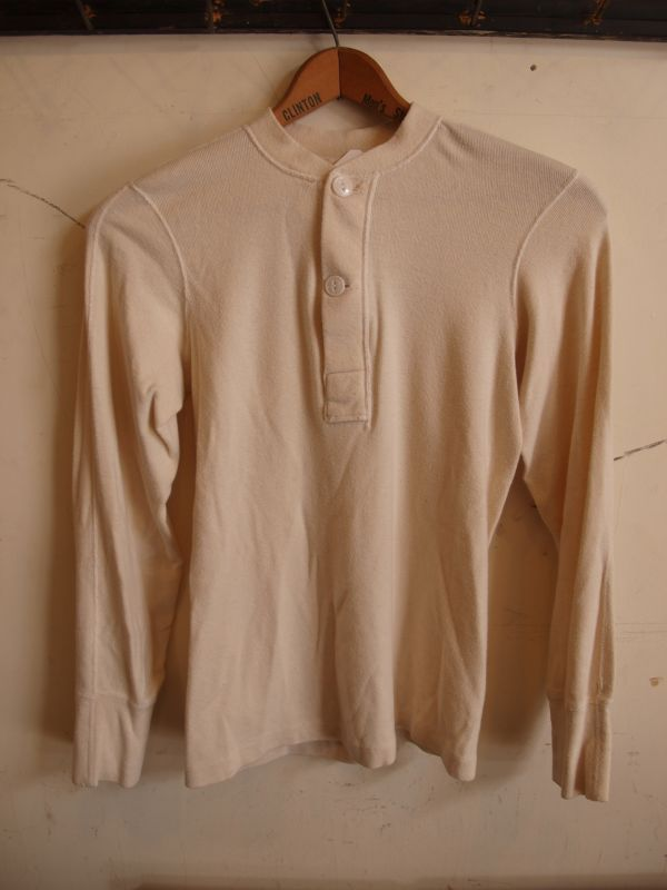 画像1: 60's US.ARMY  WINTER LIGHT WEIGHT UNDER SHIRTS