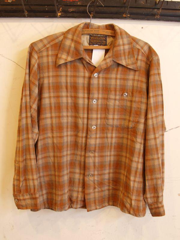 画像1: SIR PENDLETON ウールシャツ