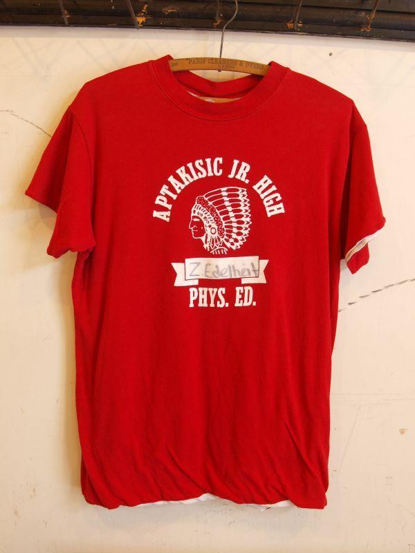 画像1: インディアンヘッド リバーシブル Teeシャツ